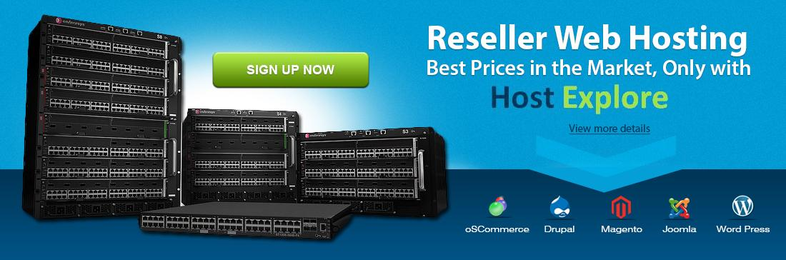 USA Reseller Web Hosting Services